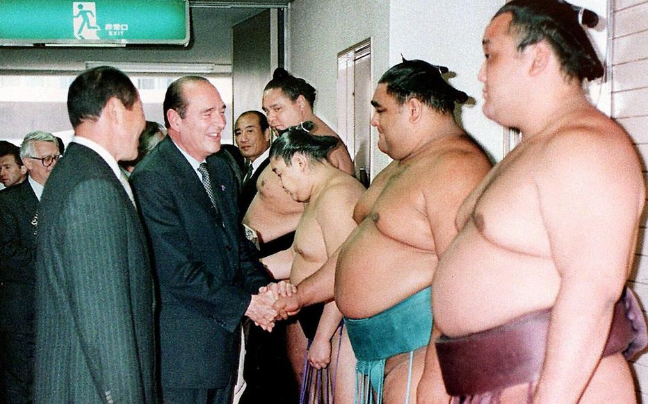 Jacques Chirac, sumo